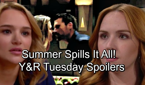 The Young and the Restless Spoilers: Tuesday, September 25 – Summer Exposes Nick and Phyllis, Mariah Freaks - Jack's Long-awaited News