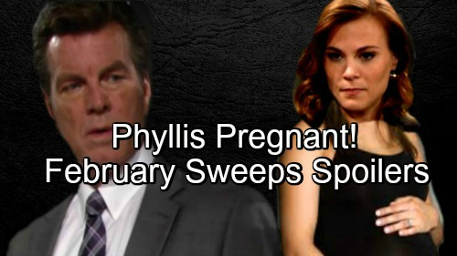 The Young and the Restless Spoilers: Phyllis and Jack Reunite - Surprise Pregnancy For February Sweeps?