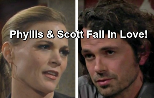 The Young and the Restless Spoilers: Phyllis Forms Strong Connection With Scott – Friendship Turns to Love?