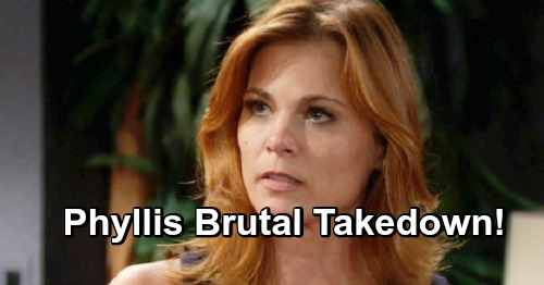 The Young and the Restless Spoilers: Revenge Is Sweet, Phyllis' Takedown Is Brutal – Does She Deserve Any Sympathy?