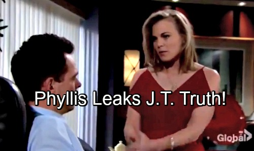 The Young and the Restless Spoilers: Phyllis The Surprise Spiller – Cover-up Crew's Shocking Leak, Billy Learns Awful Truth