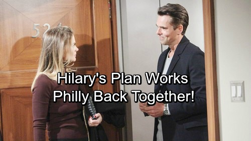The Young and the Restless Spoilers: Phyllis and Hilary's Plan Works – Philly Stays Together