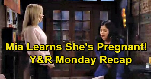 The Young and the Restless Spoilers: Monday, April 8 Recap – Mia Shocked by Real Pregnancy – Victor's Vegas Gambling Mystery