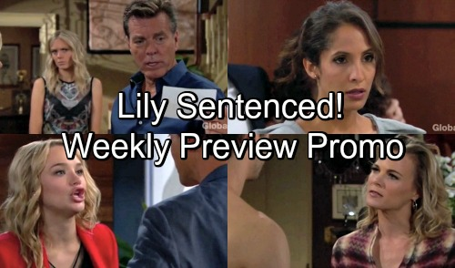 The Young and the Restless Spoilers: Week of September 3 Preview Promo – Jack's Bio Dad – Lily's Sentence – Abby Confronts Rey