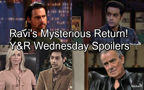 The Young and the Restless Spoilers: Wednesday, April 25 – Ravi Returns for Mysterious Arc – Nick and Victor Team Up