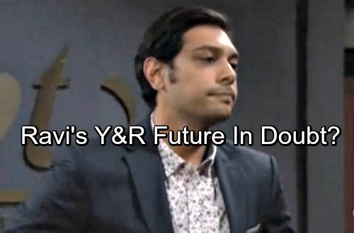 The Young and the Restless Spoilers: Ravi's Y&R Future in Jeopardy – Dumped Tech Whiz Has Terrible Options