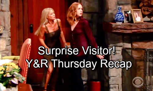 The Young and the Restless Spoilers: Thursday, August 30 Recap - Surprise Visitor, The Trap is Set and Rey's Story