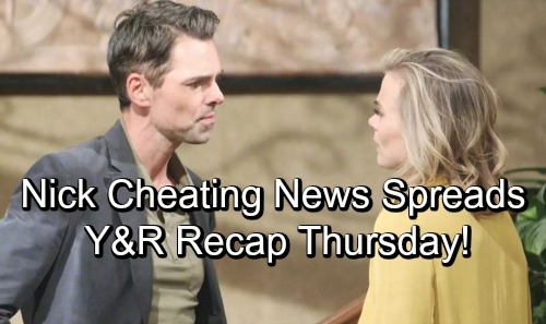 The Young and the Restless Spoilers: Thursday, September 27 Update – News of Nick's Betrayal Spreads – Billy's Confession Horrifies Phyllis