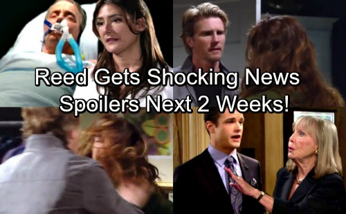 The Young and the Restless Spoilers for Next 2 Weeks: Reed Gets Startling News About J.T. – Mystery Woman Revealed
