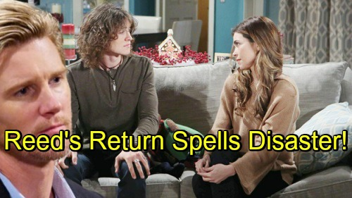 The Young and the Restless Spoilers: Reed's Return Spells Disaster for Cover-up Crew