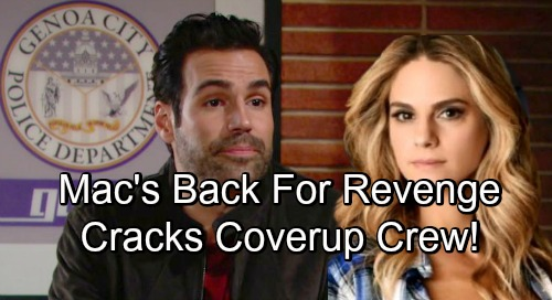 The Young and the Restless Spoilers: Mac Helps Rey with J.T. Mystery, Cracks Cover-up Crew – More Bombshells Brewing