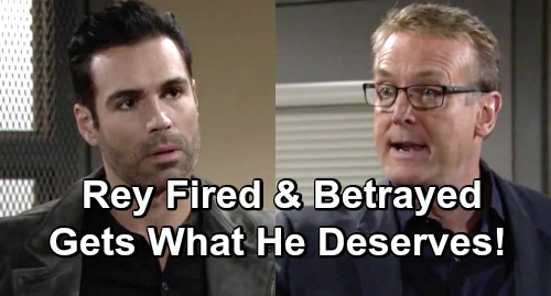 The Young and the Restless Spoilers: Rey Suffers Severe Consequences, Gets What He Deserves – Smug Detective Fired and Betrayed