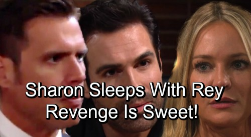The Young and the Restless Spoilers: Sharon's Sexy Rebound, Finds Comfort in Rey's Bed – Nick's Hookup Sparks Another