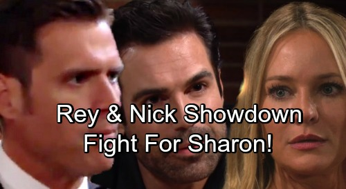 The Young and the Restless Spoilers: Nick Jealous Over Rey's Relationship With Sharon - Squares Off With Rey