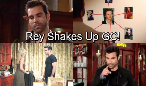 The Young and the Restless Spoilers: Rey's Shocking Impact On Genoa City - Jordi Vilasuso's New Character Shakes Things Up