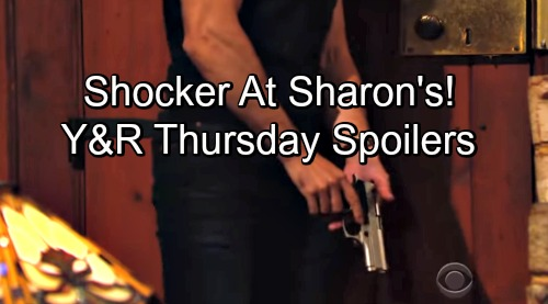 The Young and the Restless Spoilers: Thursday, August 30 – Rey Grabs His Gun for a Shocker at Sharon's – Kyle Sets Billy's Trap