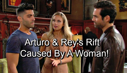 The Young and the Restless Spoilers: Arturo and Rey's Mutual Hostility - A Woman Came Between Them?