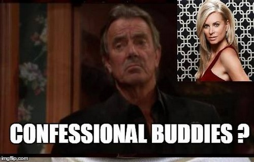 'The Young and the Restless' Spoilers: Ashley The Secret Confessional Occupant - Collaborating with Victor?