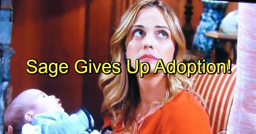 The Young and the Restless (Y&R) Spoilers: Sage Gives Up On Adoption, Urges Shawn to Keep Baby – Christian Reveal Looms