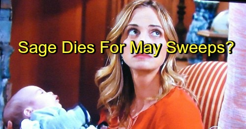 The Young and the Restless (Y&R) Spoilers: Sage Dies Just as Christian Revealed Alive - Major Character Death Teased