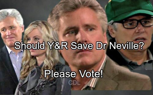 'The Young and the Restless' Spoilers: Dr. Neville's Exit Looms – Should Mal Young Rehire Michael E. Knight and Save Character?