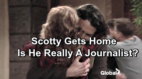 The Young and the Restless Spoilers: Is Scotty Really A Journalist?