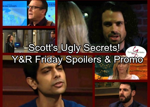 The Young and the Restless Spoilers: Christine Exposes Scott - Chloe's Case Hits Snag - Jack Pressures Nick for Truth