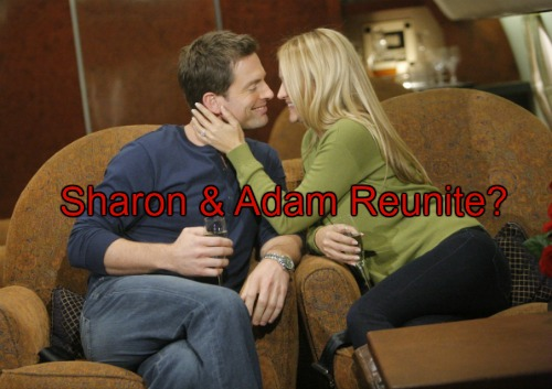 The Young and the Restless Spoilers: Surprise Shadam Revival - Dylan's Departure Opens Sharon's Heart to Adam?