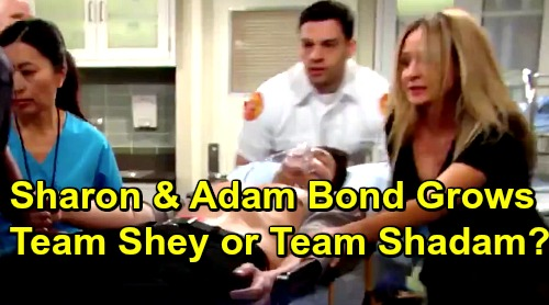 The Young and the Restless Spoilers: Sharon and Adam's Intense Bond Grows After Memory Recovery – Will Shey Lose Out to Shadam?