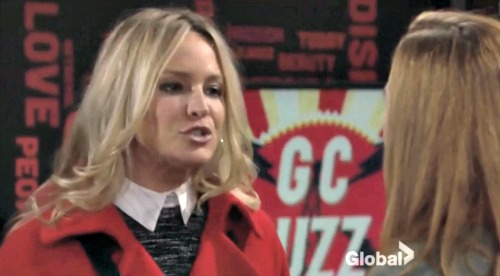 The Young and the Restless Spoilers: Sharon Goes Live on GC Buzz, Mariah Protests – Travis Kisses Michelle, Passion Flares