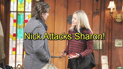 The Young and the Restless Spoilers: Sharon Welcomes New House Guests – Forced To Defend Herself From Nick