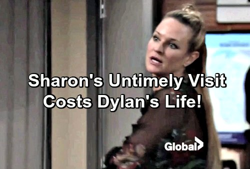 The Young and the Restless Spoilers: Frantic Sharon Seeks Dylan – Desperate Wife's Untimely Appearance Costs Dylan His Life?