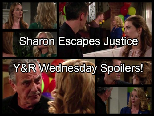 The Young and the Restless Spoilers: Nick Comes Through for Sharon, Nikki Disgusted – Sharon Escapes Justice Again