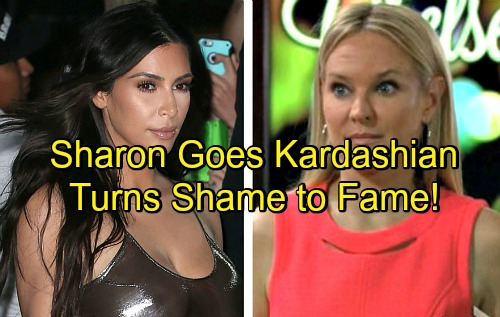 'The Young and the Restless' Spoilers: Sharon Takes Kardashian Route on GC Buzz – Turns Shame Into Fame