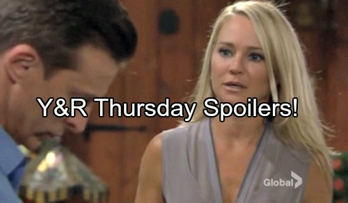 'The Young and the Restless' Spoilers: Victor Threatens Chloe, Struggles to Keep Partner in Line – Sharon Has Meltdown