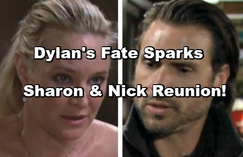 The Young and the Restless Spoilers: Sharon and Nick Reunite - Dylan's Fate Pushes Sharon Into Nick's Arms
