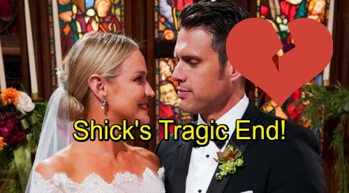 The Young and the Restless Spoilers: Shick's Tragic End – Is Sharon a Justified Bride or Heartless Hypocrite?