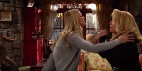 The Young and the Restless Spoilers: Week of November 7 - Nikki and Sharon Fist Fight - Mariah Gives GC Buzz Sully Story