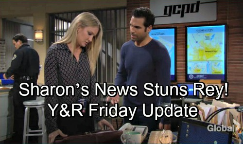 The Young and the Restless Spoilers: Friday, November 9 – Tessa's Money Shocker – Victoria Fears for Reed - Sharon Stuns Rey