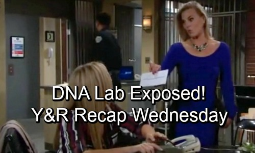 The Young and the Restless Spoilers: Wednesday, October 10 Recap – Andrew's DNA Lab Link Revealed – Nick's Crushing Discovery