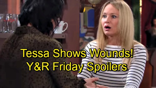The Young and the Restless Spoilers: Friday, September 14 – Tessa Shows Wounds – Abby's Big Admission – Billy Infuriates Ashley