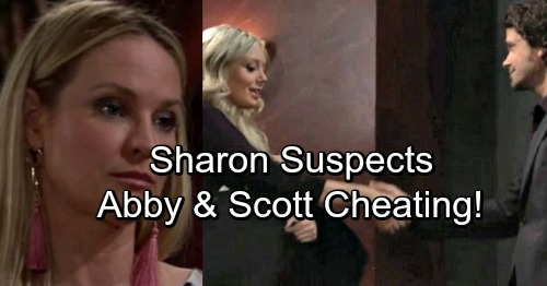 The Young and the Restless Spoilers: Sharon Battles Suspicions, Investigates Scott and Abby – Love Triangle Explodes