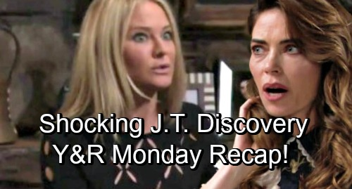 The Young and the Restless Spoilers: Monday, November 26 – Victoria and Sharon's Terrifying Discovery – Tessa Loses Ransom and Evidence