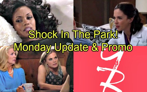 The Young and the Restless Spoilers: Monday, July 2 Update – Shocking Discovery at the Park – Hilary's Baby Shocker - New Promo
