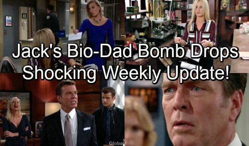 The Young and the Restless Spoilers: Week of October 8 Promo - Watch Ashley Drop Bio Dad Bomb on Jack – New J.T. Threat Emerges