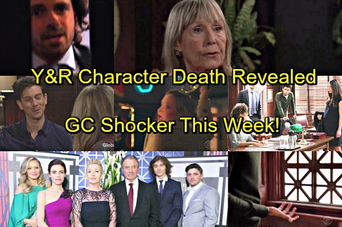 The Young and the Restless Spoilers: Y&R Character's Death Revealed - Surprise Exit Shocks Genoa City