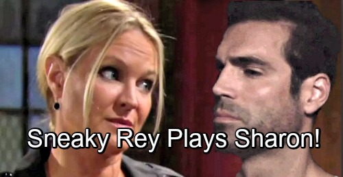 The Young and the Restless Spoilers: Sneaky Rey Grows Closer to Sharon, Sparks Fly as Secrets Swirl, Game-changer for Cover-up Crew