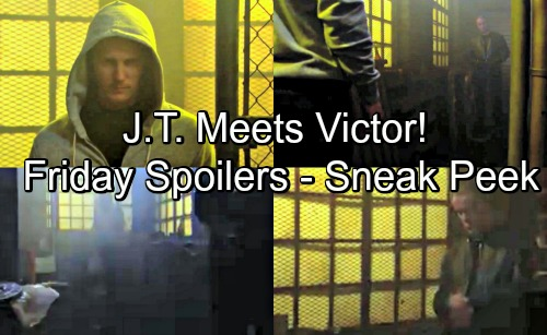 The Young and the Restless Spoilers: Friday, July 13 Update and Sneak Peek – J.T. and Victor Face to Face In Deadly Showdown