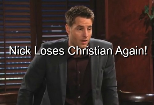 The Young and the Restless (Y&R) Spoilers: After Sully Taken From Sharon, Nick Loses Son Again - Adam Now Christian's Dad