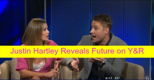 The Young and the Restless Spoilers: Justin Hartley Confirms Adam Staying on Y&R - Adam Meets Devil, Sees Himself?